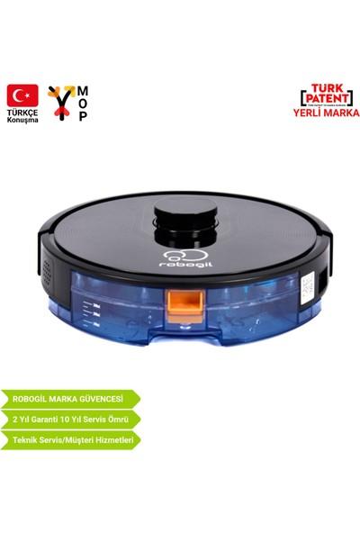Luna-200 Türkçe Konuşan Lazer Navigasyonlu Robot Süpürge