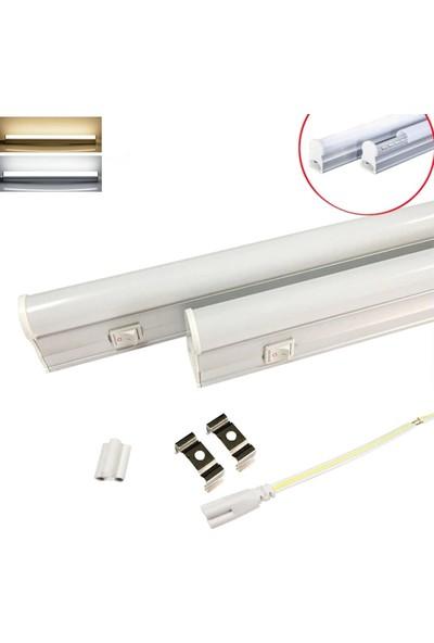 Coral Light Mutfak Tezgah Işığı LED Bant Armatür 12W 87,5 cm Beyaz & Gün Işığı 220V