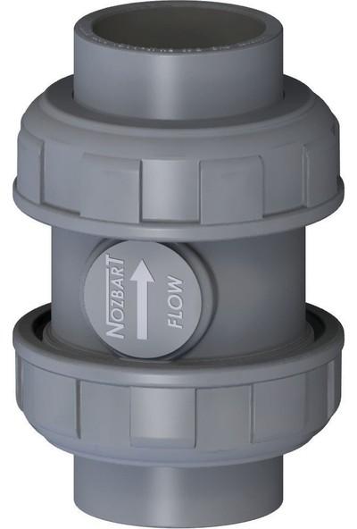 Nozbart Ø 50 mm Dört Ayaklı Yaylı Çekvalf