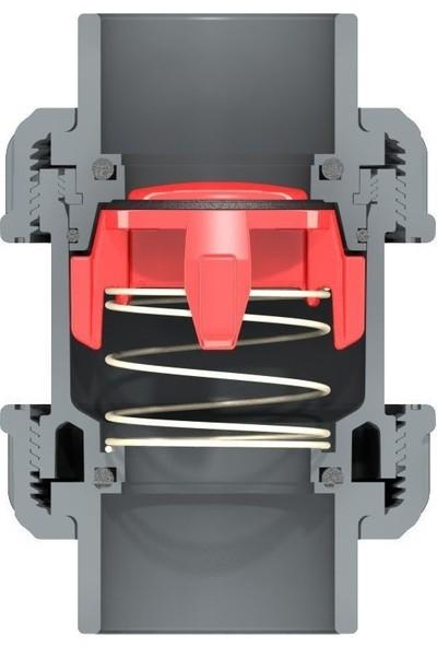 Nozbart Ø 25 mm Dört Ayaklı Yaylı Çekvalf