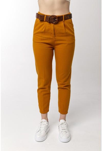 Coral Pilin Pantolon Hardal