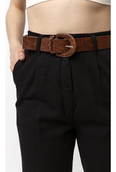 Coral Pilin Pantolon Siyah