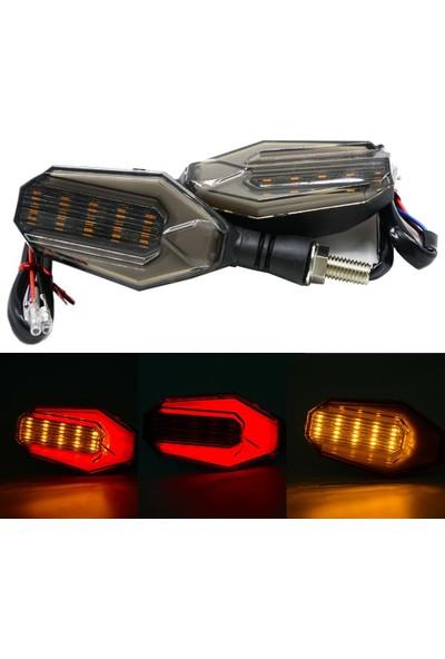Motolight Üniversal Modofiyeli Ledli Lüx Sinyal