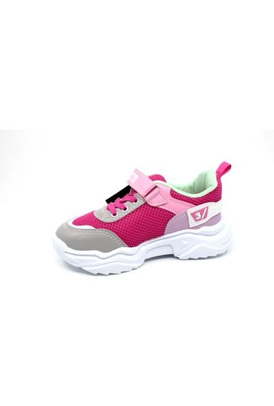 Kız Çocuk Cırtlı Spor Ayakkabı
