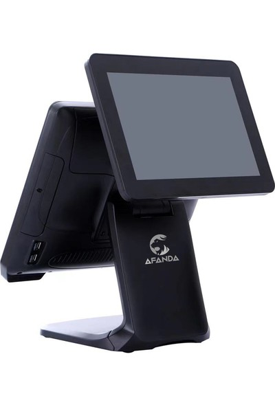 Afanda Spartapos Çift Ekran Dokunmatik Pos Terminal