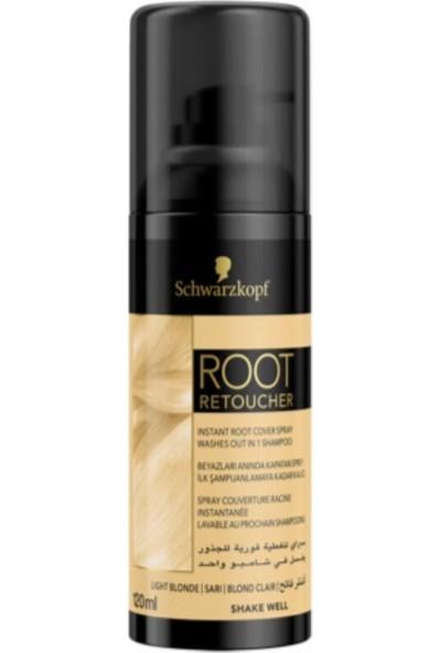 Schwarzkopf Saç Beyaz Kapatıcı Sprey 120 ml Root Retoucher Sarı