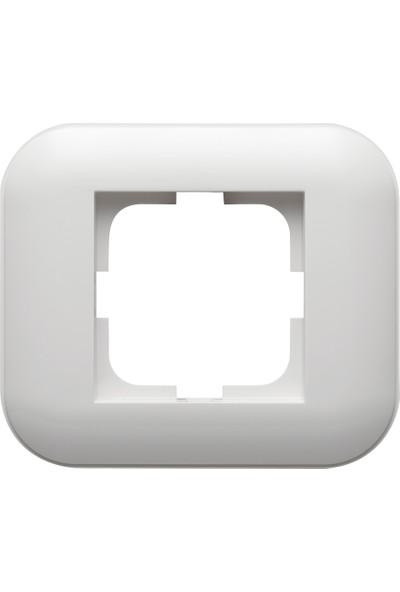 Ovivo Loft Serisi Beyaz Nümeris Telefon Prizi+Çerçeve