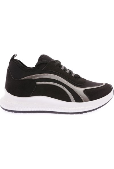 Dgn 180 Kadın Kalın Taban Sneakers Spor Ayakkabı