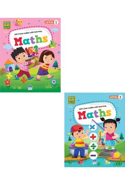 Maths Learning Kids (Level 1-2 ) 2 Kitap Set