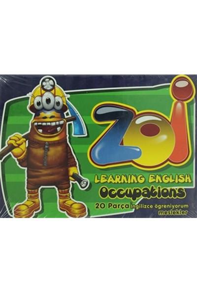 Gordion Junior Puzzle Eğitici Zoi Ingilizce Meslekler 20 Parça 40240