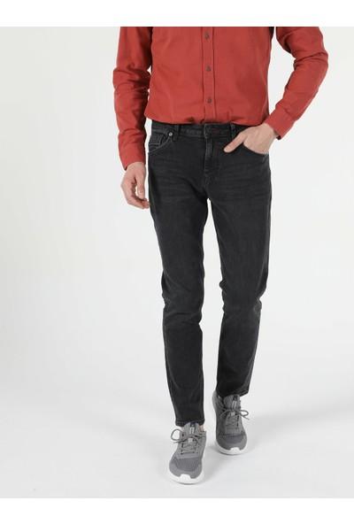 Colins 067 JACK Orta Bel Daralan Paça Regular Fit Jean Erkek Jean Pantolon