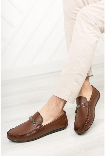 Rakkoo Taba Erkek Loafer Günlük Ayakkabı