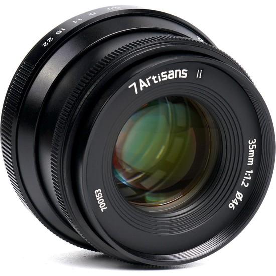 7ARTISANS 35MM F/1.2 Lens (Sony E) Ver. Iı