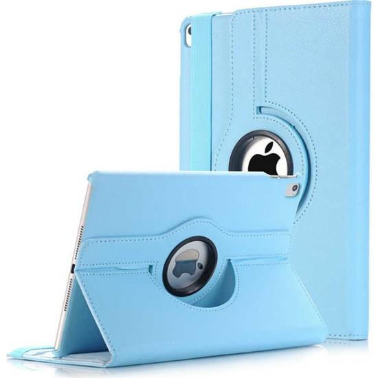 Caseart Apple iPad Pro 12.9 Dönebilen Stantlı Tablet Kılıfı - Mavi