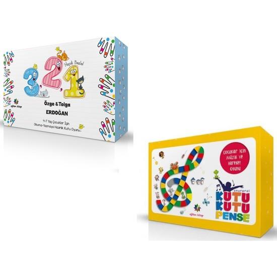 3-2-1 Haydi Başla 4-7 Yaş Çocuklar Için Okuma Yazmaya Hazırlık Oyunu & Kutu Kutu Pense Çocuklar Için Müzik ve Hareket Oyunu - Tolga Erdoğan - Onur Erol Ekitap İndir | PDF | ePub | Mobi