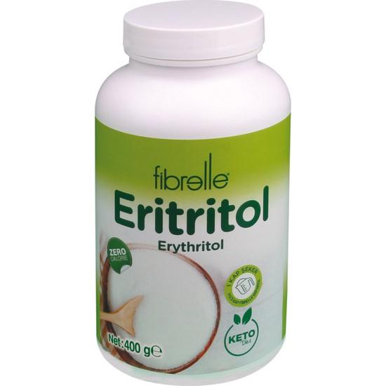 Fibrelle Eritritol Ketojenik Diyete Uygun Tatlandırıcı 400 gr Sıfır Kalori Erythritol