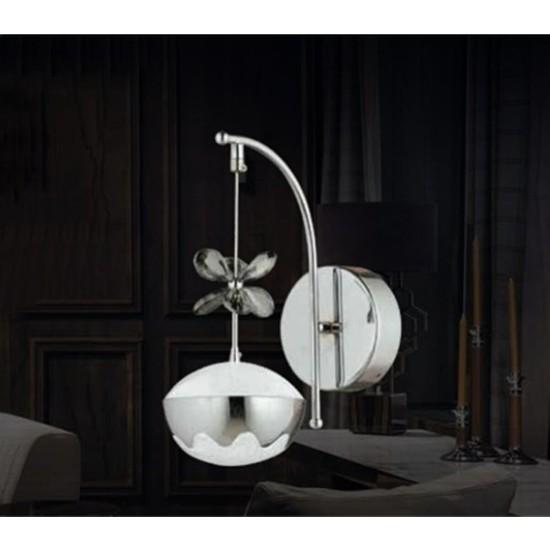 Burenze Elegance Luxury Tasarım Modern Duvar LED Aplik Krom BURENZE833