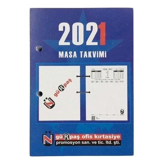 Gürpaş 2021 Masa Blok Delikli Takvim