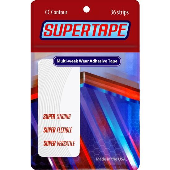 True Tape Protez Saç Bandı Super Tape ''CC'' - 3/4'' x 3'' (2 x 7,5 Cm) 36 Adet