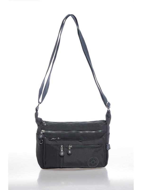 Smart Bags SMBK1081-0089 Füme Kadın Çapraz Çanta