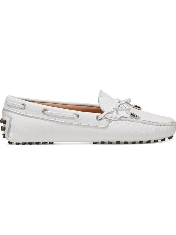Nine West Holt 1fx Beyaz Kadın Loafer Ayakkabı