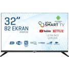 "Onvo OV32F152 32"" 82 Ekran Frameless Android Smart HD LED TV"