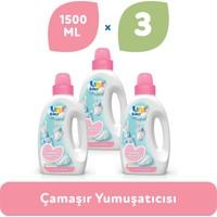 Uni Baby Çamaşır Yumuşatıcısı 1.500 ml 3'lü Ekonomik Fırsat Paketi