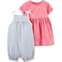 Carter's Kız Bebek Elbise Set 1K664510