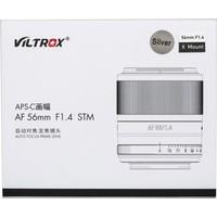 Viltrox Af 56MM F/1.4 Xf Lens Silver (Fujifilm X)