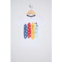U.S. Polo Assn. Beyaz T-Shirt 50238327-VR013