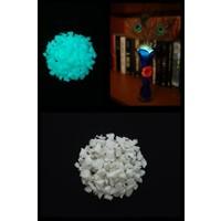 Arge-Kimya Glow In The Dark Stones BLUE_03 (1-4MM/50GR) / Karanlıkta Parlayan Taşlar MAVI_03