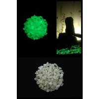 Arge-Kimya Glow In The Dark Stones GREEN_03 (1-4MM/50GR) / Karanlıkta Parlayan Taşlar YEŞIL_03