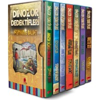 Dinozor Dedektifleri Seti 7 Kitap - Stephaie Baudet