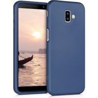 Fibaks Samsung Galaxy J6 Plus Kılıf Klasik Mat Renkli Yumuşak Premier Silikon