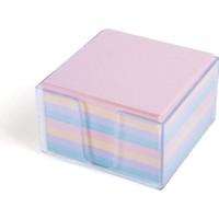 Umur Plastik Kutulu Renkli Küp Blok 8.5 x 8.5 cm