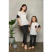 Lilian Sweet Love Pijama Takımı Anne Kız Kombin Yapılabilir Ayrı Ayrı Satılır