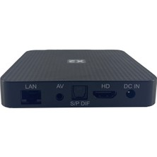 X2 Quad Core 64 Bit 4K Hdr Android Tv Box