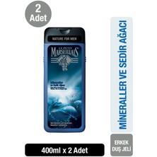 Le Petit Marseillais Mineraller ve Sedir Ağacı Duş Jeli 400 ml x 2 Adet