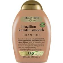 OGX Brazilian Keratin Smooth Sülfatsız Şampuan 385 ml