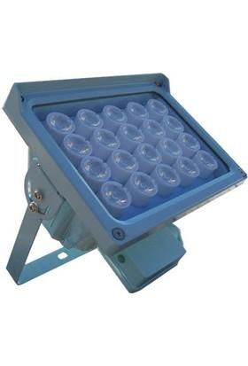OPAX Htx-20 20 LED 130M Görüş Mesafeli Gece-Gündüz Sensör Projektör