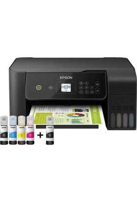 Epson EcoTank L3160 Tarayıcı + Fotokopi + Wi-Fi Direct + AirPrint Mürekkep Tanklı Yazıcı C11CH42403