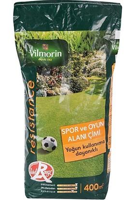 Vilmorin 10 kg Spor Alan Çim + Bahçem Greenmax Çim Besini 10 kg 2'li Set