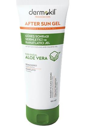 Dermokil After Sun Gel-Güneş Sonrası Serinletici ve Rahatlatıcı Jel 100 ml