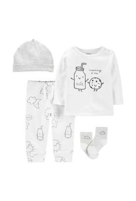 Carter's Layette Bebek Hastane Çıkış Setli - 4pk 1I719310