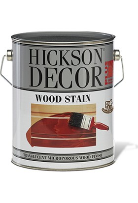 Hıckson Decor Plus Wood Dış Cephe Ahşap Boyası (1 - 2.5 - 5 lt) Burma-5 lt