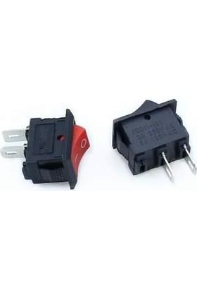 Motorobit KCD11 Mini On-Off Anahtar - Kırmızı
