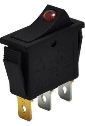 Motorobit Kcd3 Tekli Dar Işıklı On/off Anahtar IC-113A