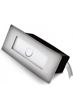 Ack AH07-01034 1.5W 6500K Sensörlü LED Merdiven ve Duvar Armatürü