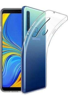 Fibaks Samsung Galaxy A9 2018 Kılıf Şeffaf Süper Silikon