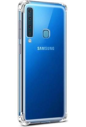 Fibaks Samsung Galaxy A9 2018 Kılıf Köşe Korumalı Anti Şok Sert Silikon